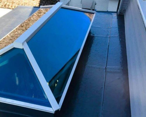 A roof installed by our Alwitra roofing installers.